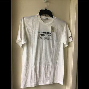 Rare Moschino Millennium year 2000 Tee Shirt White